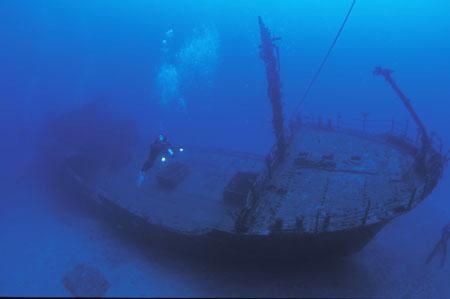 Shipwreck Stella Maru